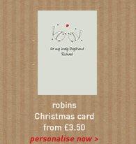 robins card
