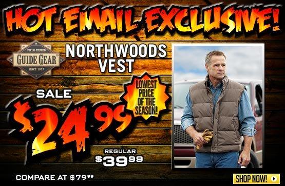 Guide Gear® Northwoods Vest
