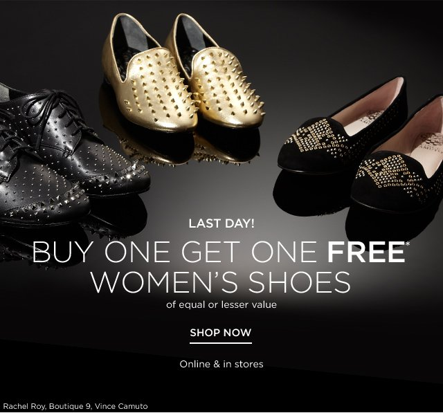 Buy One Get One Free Women's Shoes