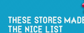 These stores made the nice list