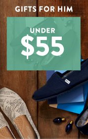 Gifts for him under $55