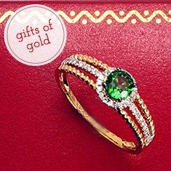 Yellow Gold Designer Jewelry Under $299