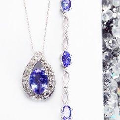 Gemstone Necklaces & Bracelets under $499
