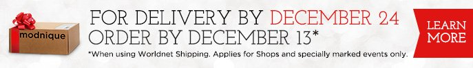 For Delivery by December 24 order by December 13