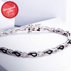 Diamond Necklaces & Bracelets Under $599