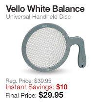 Vello White Balance Disc