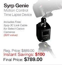 Syrp Genie Motion