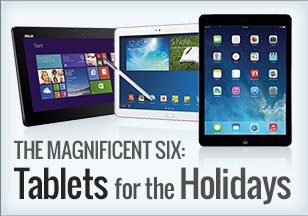 Six Tablets for Holidays