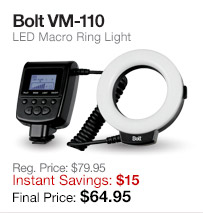 Bolt Ring Light