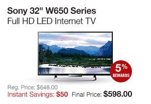 Sony 32 Internet TV