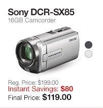 Sony DCR-SX85