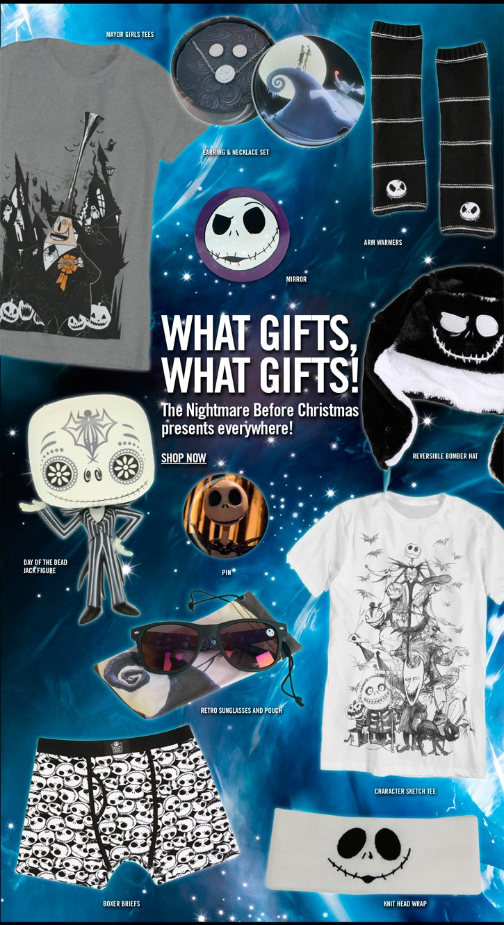 WHAT GIFTS, WHAT GIFTS! SHOP NOW