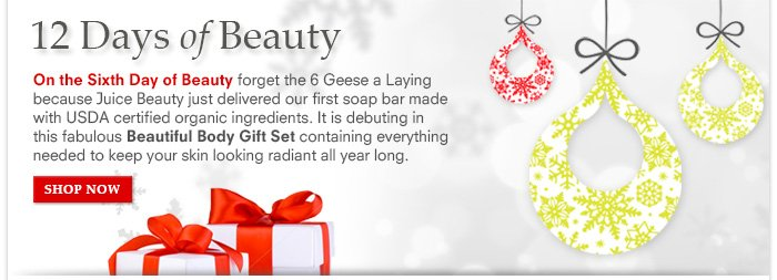 12 Days Of Beauty: Day 6 - Beautiful Body Gift Set - $48 ($58 value)