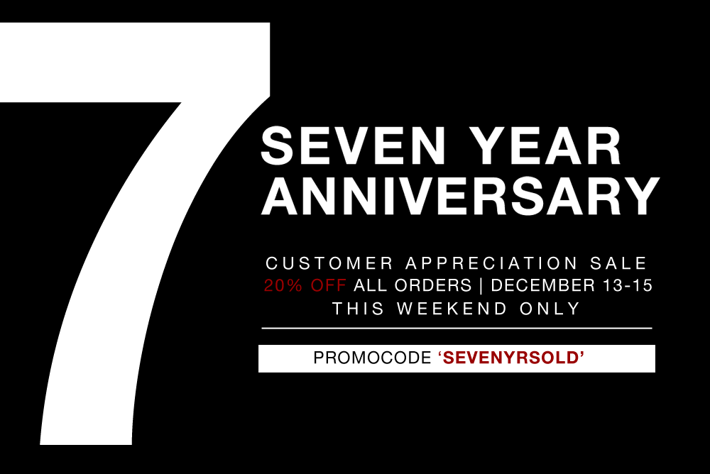 7 year anniversary promotion
