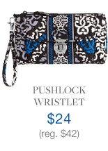 Pushlock Wristlet $24 (reg. $42)