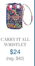 Carry It All Wristlet $24 (reg. $42)