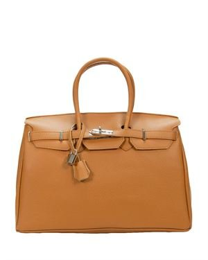 Mod'Arte Genuine Leather Satchel- Made in Italy