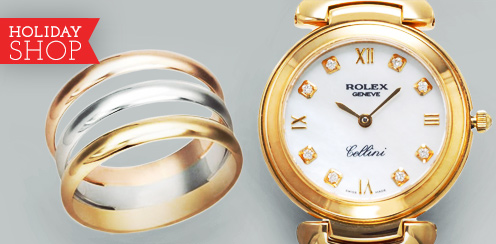 Rolex, Tiffany, Bulgari and more