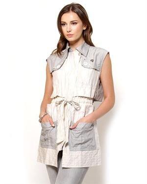 Angels Never Die Zip-Up Vest- Made In Europe