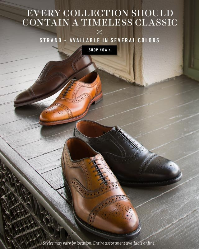 Every Collection Should Contain A Timeless Classic. Strand - Available in Several Colors. Shop Now >
