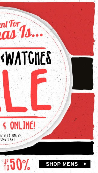 Shop Mens Sunnies And Watches
