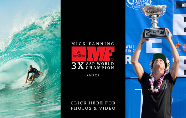 2013 ASP World Champion Mick Fanning