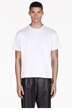 VALENTINO White Single Stud T-shirt for men