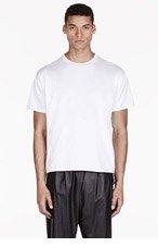 VALENTINO White Single Stud T-shirt for men
