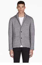 RAG & BONE Grey Workwear Blazer for men