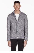 RAG & BONE Grey Workwear Blazer for men