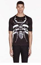 DIESEL BLACK GOLD Black Tominoviy Bao T-shirt for men