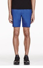 MARC BY MARC JACOBS Blue Harvey Twill Shorts for men