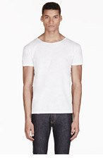 LEVIS VINTAGE CLOTHING White 1930'S Bay Meadows T-Shirt for men