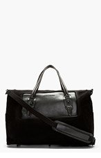 DIESEL BLACK GOLD SSENSE EXCLUSIVE QUIN TRAVEL BAG for men