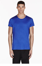 ACNE STUDIOS Blue Basic T-Shirt for men