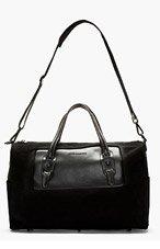 DIESEL BLACK GOLD SSENSE EXCLUSIVE QUIN TRAVEL BAG for men
