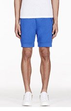 CHRISTOPHER KANE Blue Lounge Shorts for men