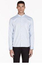 PAUL SMITH JEANS Sky Blue Polka Dot Shirt for men