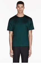 VALENTINO Emerald Single Stud T-shirt for men