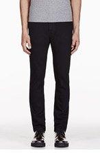LEVIS VINTAGE CLOTHING Black 1960'S 606 Slim Jeans for men