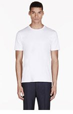 ACNE STUDIOS White Basic T-Shirt for men