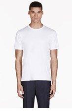 ACNE STUDIOS White Basic T-Shirt for men