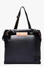 ADIDAS BY TOM DIXON Navy convertible Tom Dixon edition PACKABLE TOTE for men
