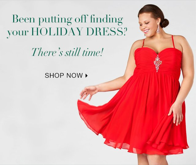 There's Still Time To Order Your Holiday Dress! Shop Now.