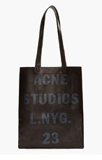 ACNE STUDIOS Black Leather Minimalist Rumor Bag for women