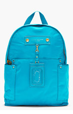 MARC BY MARC JACOBS Teal Nylon Preppy Backpack for women