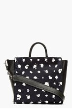 3.1 PHILLIP LIM Black & midnight Navy Ryder Square Tote for women