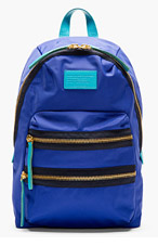 MARC BY MARC JACOBS Blue & Teal Domo Arigato Packrat Backpack for women