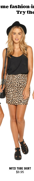 Mitzi Tube Skirt $9.95