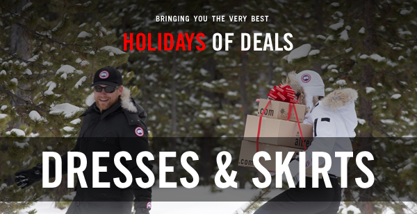 Holiday Deals - Day 3: Dresses & Skirts